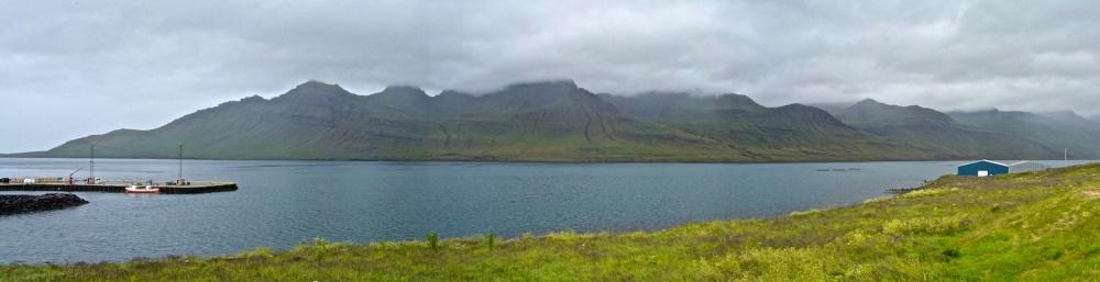 stodvarfjordur, panorama, Islande