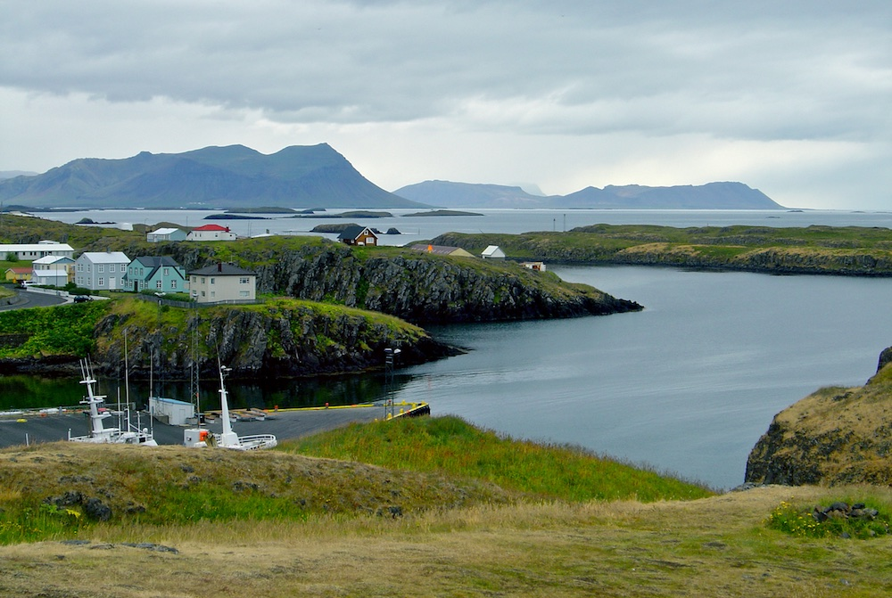 Stykkisholmur, paysage, Islande