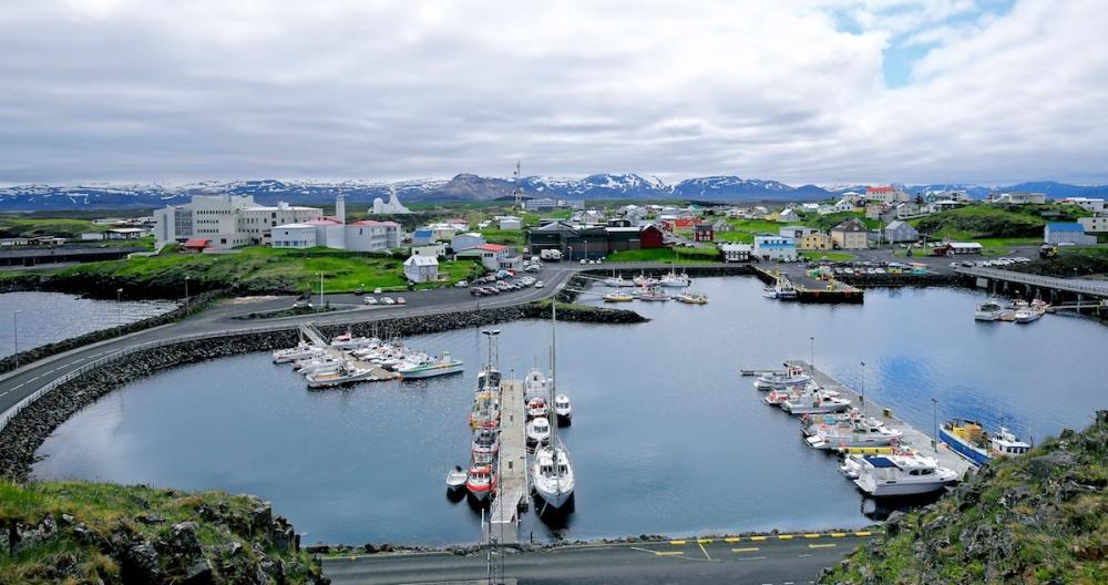 Stykkisholmur, sugandisey, paysages, Islande