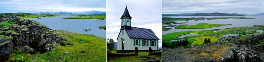 thingvallavatn, thingvallakirkja, Islande