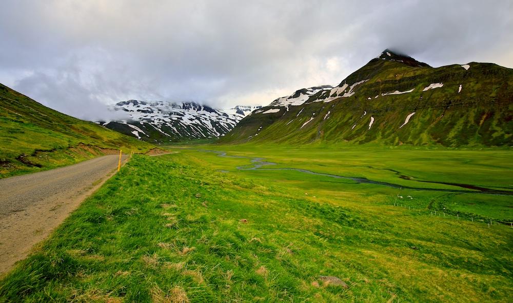 Trollaskagi, trolls, Islande, paysage