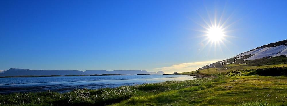 paysage, Islande, fjord, Unadsdalur