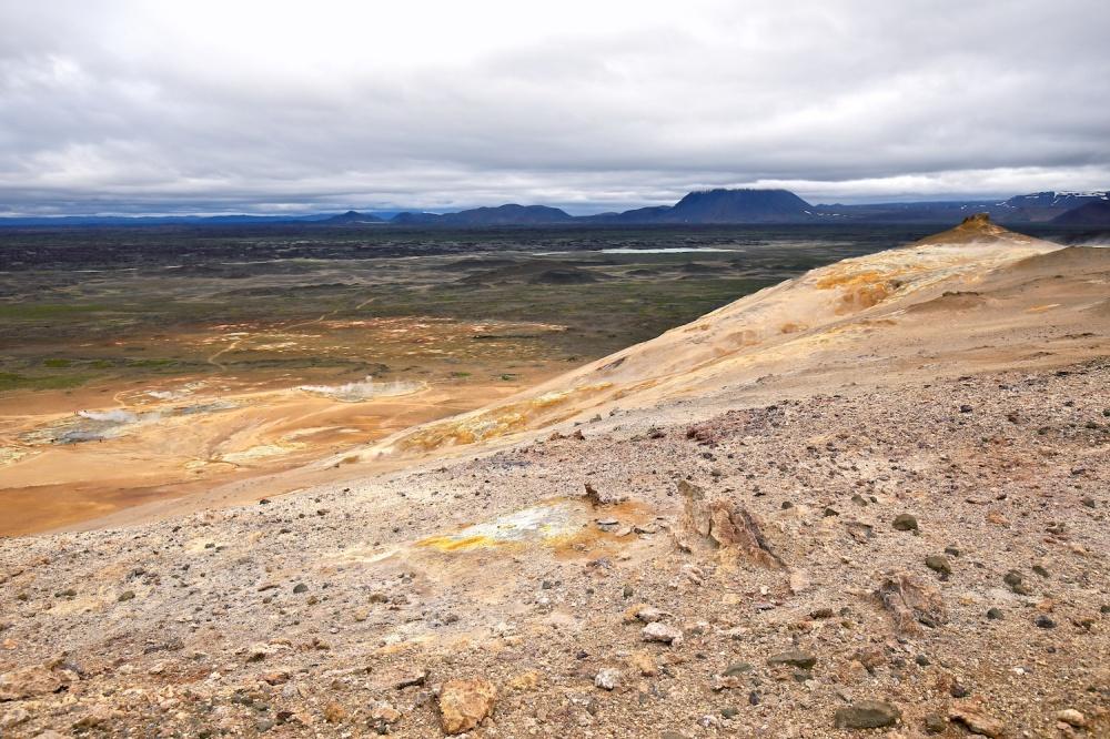 Ytri-Namakolla, Namajfall, paysage, Islande